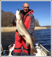 Big pike from Garnanäs