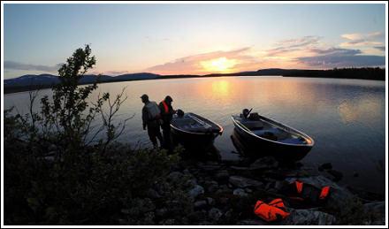 Fishing in Anariset