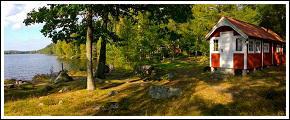 Stuga vid Långssjönäs