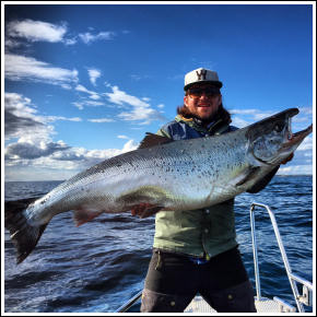 Trosa Fishing Guide, salmon fishing