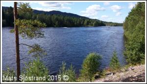 River Österdalälven at Kuntmått, Lokarakan