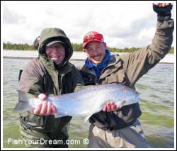 Havsöringfiske på Gotland