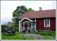 Stuga vid Fyrväpplingen Fiskecamp