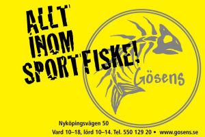 Gösens Fiske & Natur i Södertälje
