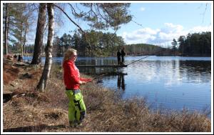 Fiska i Kroksjön