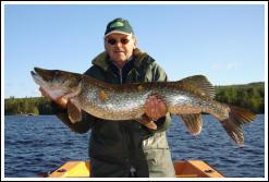 Guidning med inriktning på gäddfiske