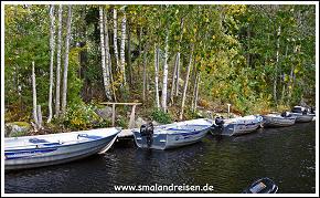 Båtarna på Adventure of Småland