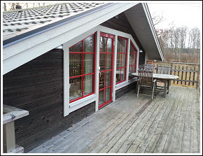 Nybyggd stuga uthyres nära Åskär