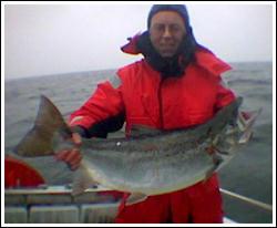 Laxfiske på Vänern